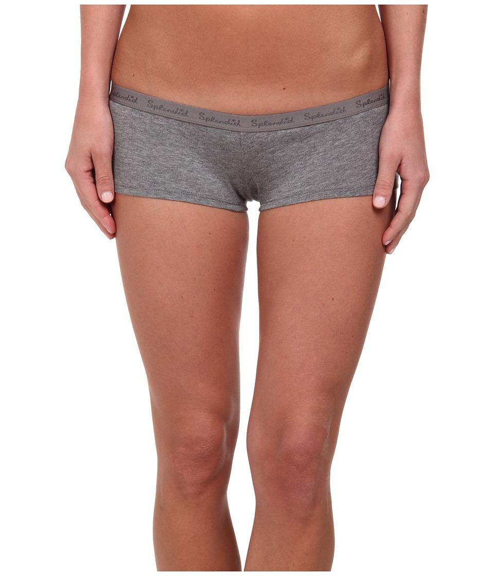 Splendid - Girlshort (Charcoal Heather) Women's Underwear