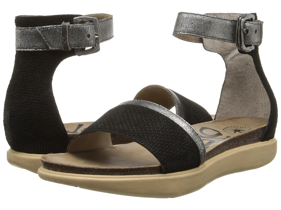 OTBT - Martha Tx (Black Silver) Women's Sandals