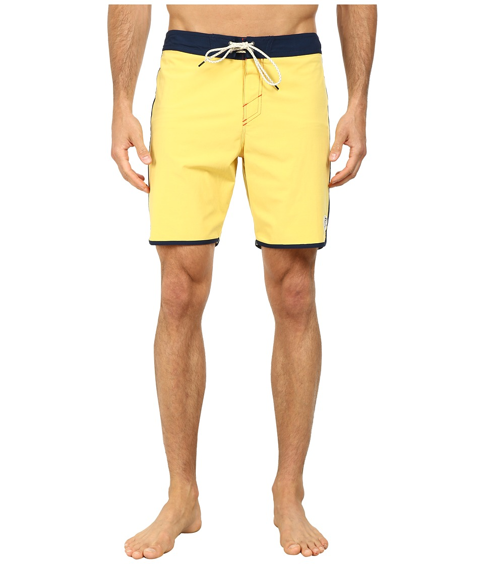O'Neill - Santa Cruz Original Scallop Boardshorts (Beeswax) Men's Swimwear
