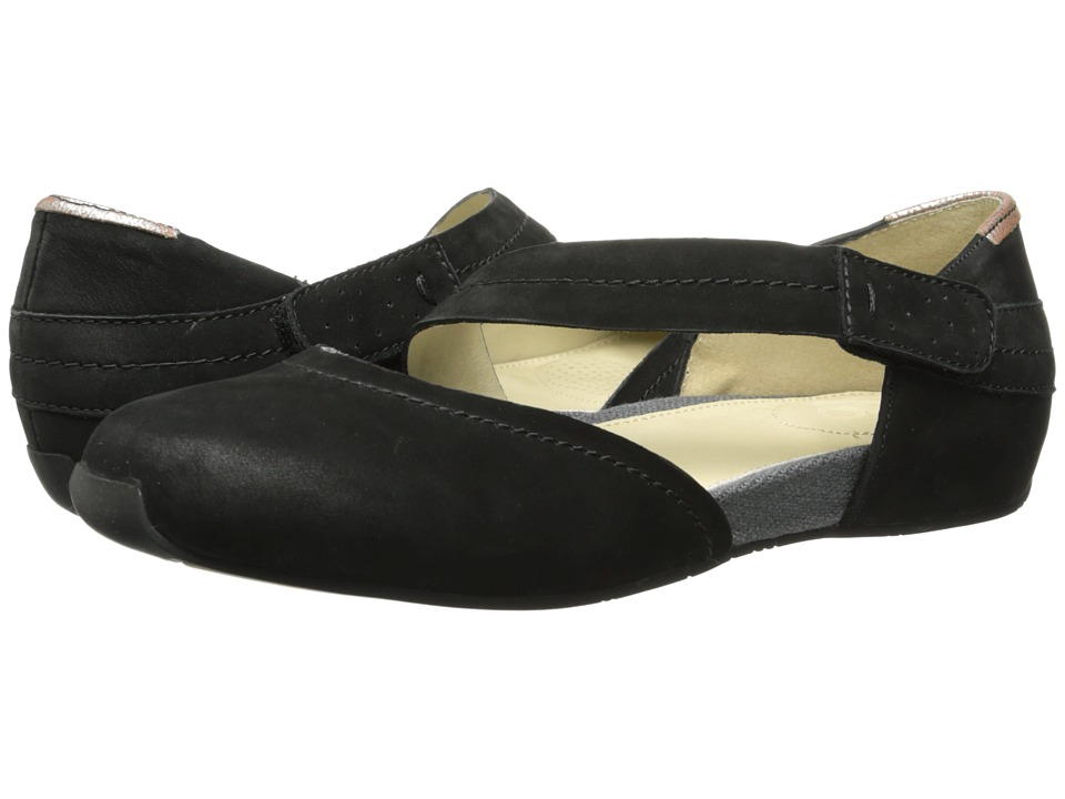 OTBT - Pacific City (Black) Women's Flat Shoes