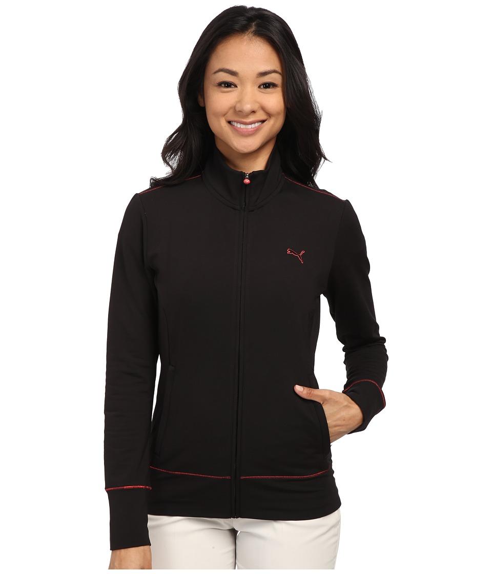 PUMA Golf - PWRWarm Golf Jacket (Black) Women's Coat