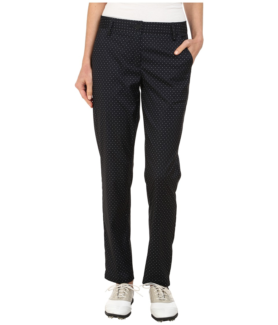 PUMA Golf - Dot Print Pants (Black Print) Women's Casual Pants