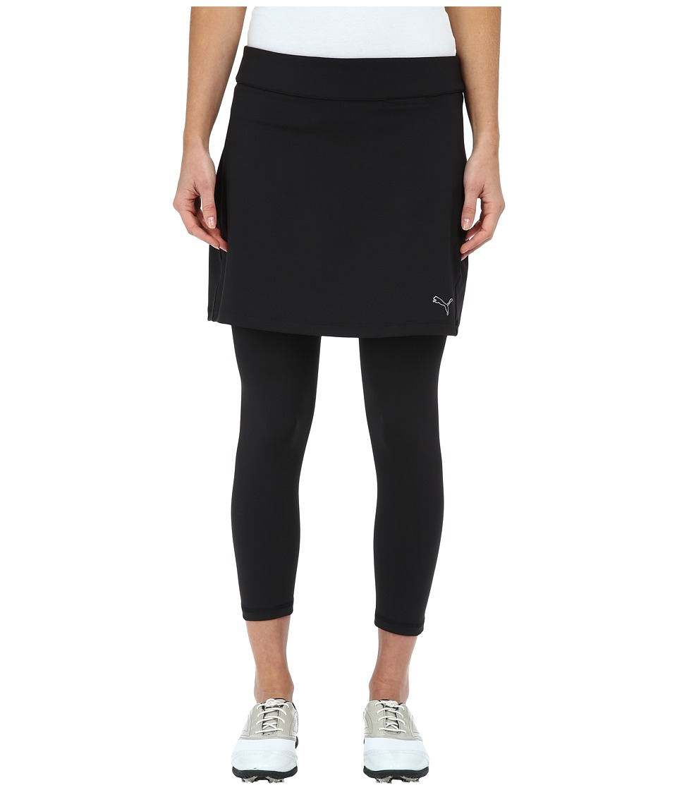 PUMA Golf - Golf Skirt Capri (Black) Women's Skort