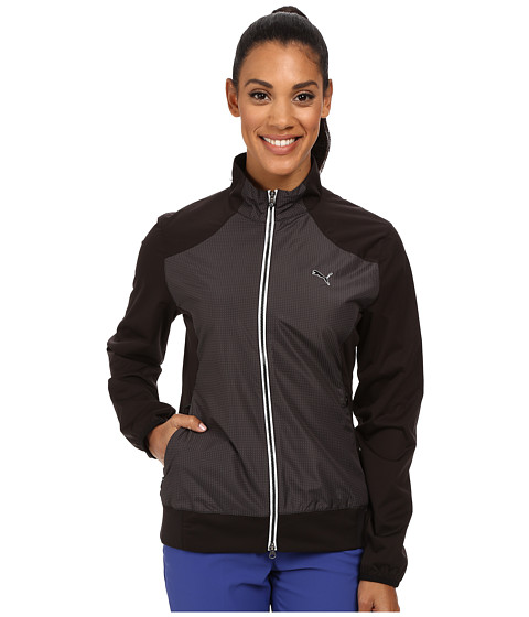 PUMA Golf - Tech Wind Jacket (Black) Women's Coat