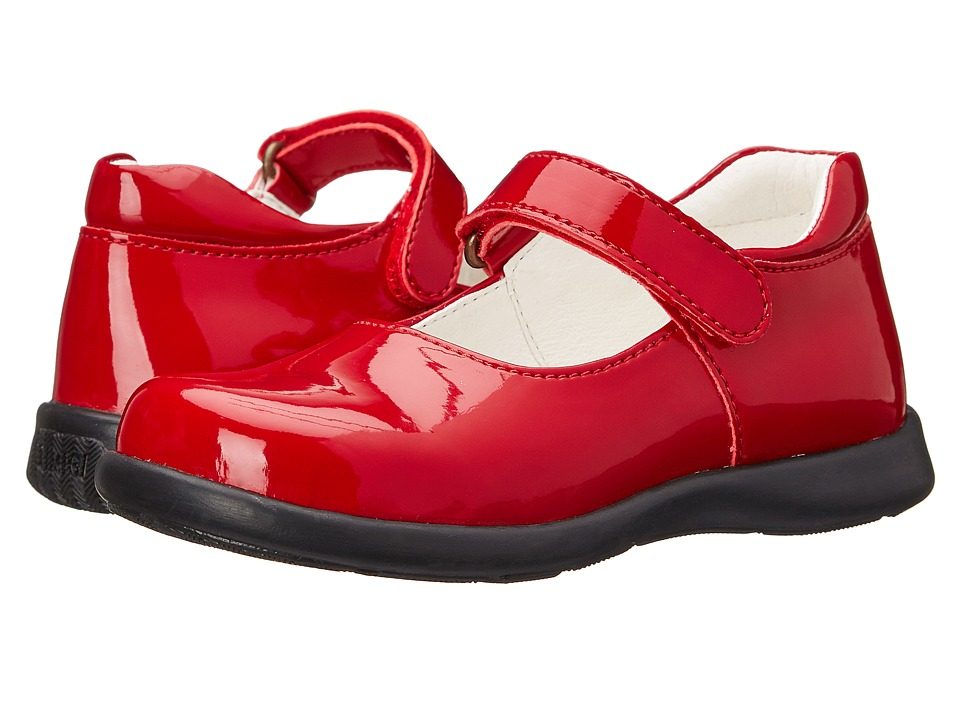 Primigi Kids - Andes (Toddler/Little Kid) (Red Patent) Girls Shoes