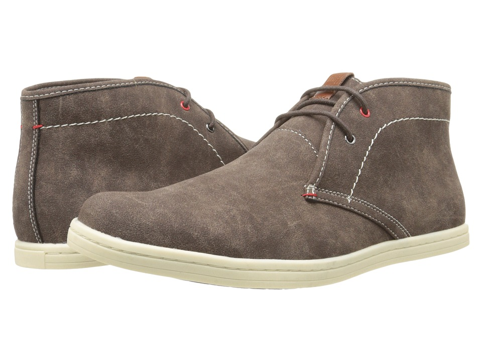 Ben Sherman - Vince Suede (Chocolate) Men's Lace up casual Shoes