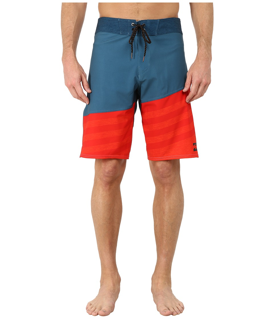 Billabong - Slice A Frame X Boardshorts (Petrol) Men's Swimwear