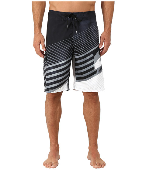 Billabong - Slider Boardshorts (Black) Men's Swimwear