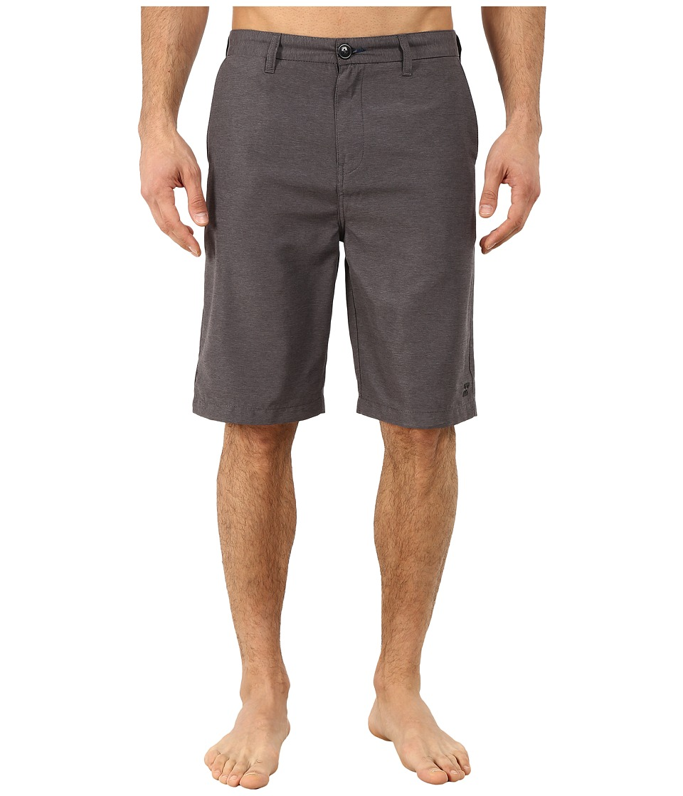 Billabong - Carter Heather Submersible Boardshorts (Dark Grey Heather) Men
