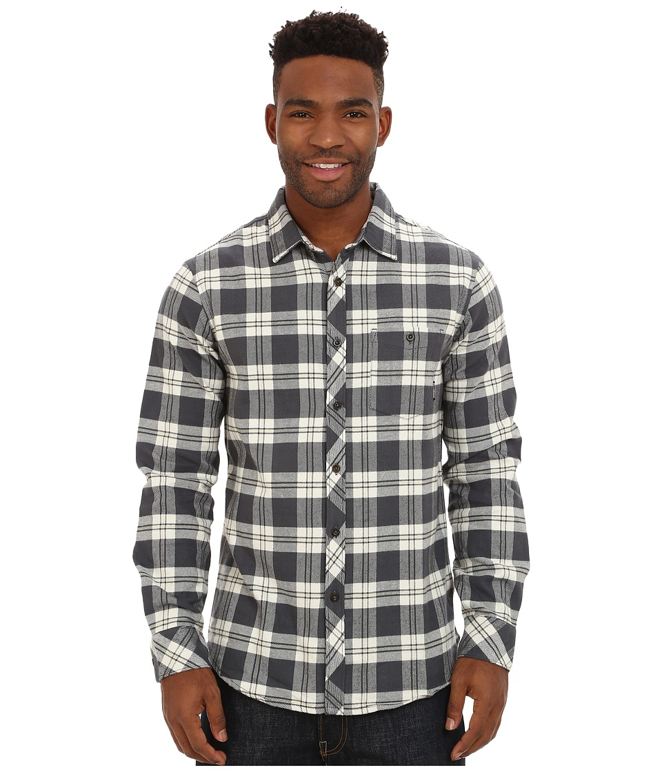 Billabong - Anderson Long Sleeve Button Down Shirt (Vapor) Men's Long Sleeve Button Up