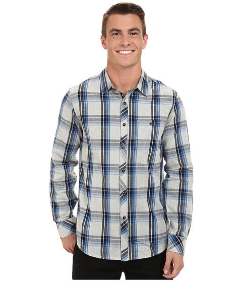 Billabong - Bellford Long Sleeve Button Down Shirt (Grey Heather) Men's Long Sleeve Button Up