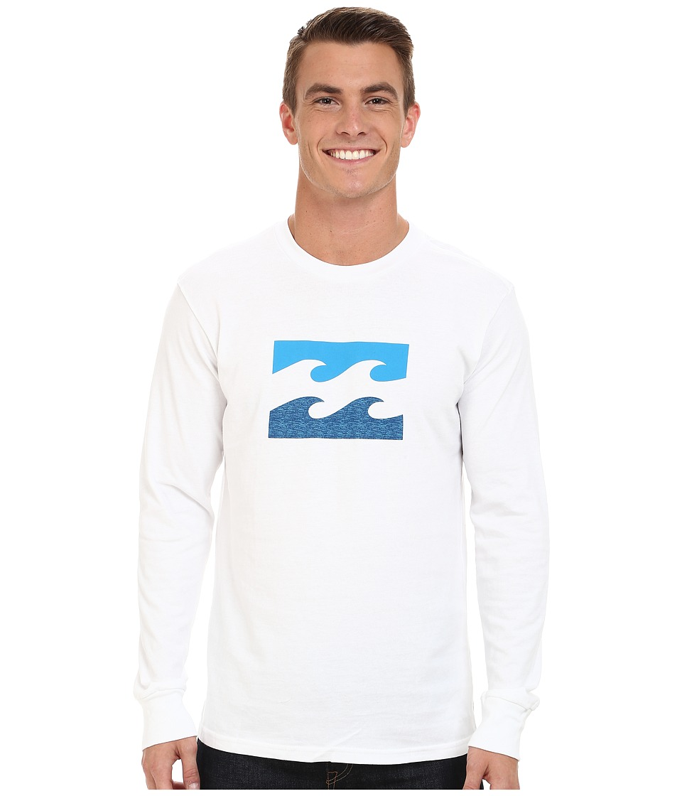 Billabong - Compliments Long Sleeve T-Shirt (White) Men's Long Sleeve Button Up