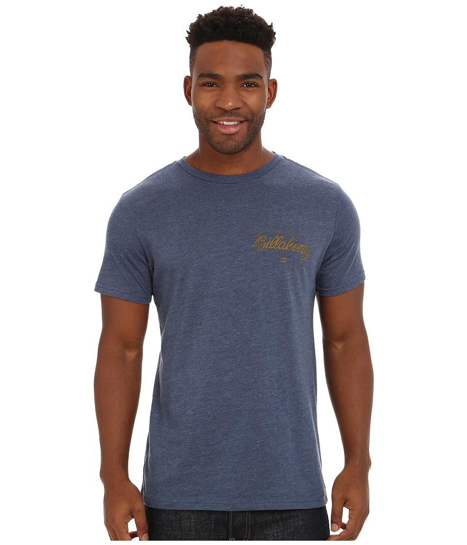 Billabong - Oxford Short Sleeve T-Shirt (Navy Heather) Men