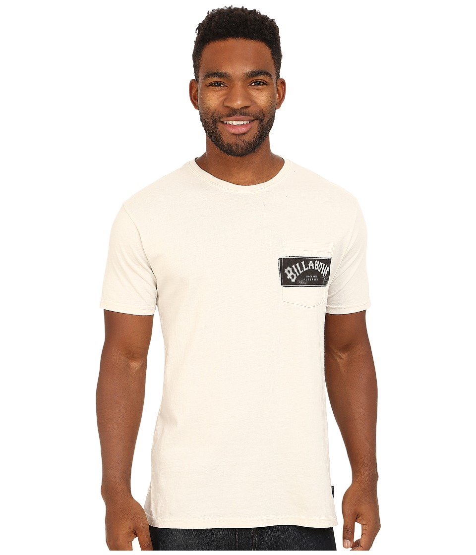 Billabong - Paste Up T-Shirt (Bone) Men's T Shirt