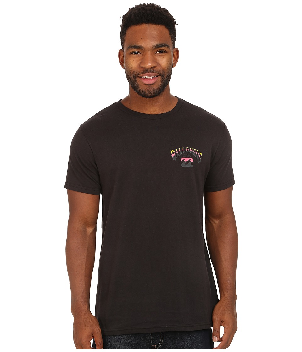 Billabong - Tri Bong T-Shirt (Black) Men's T Shirt