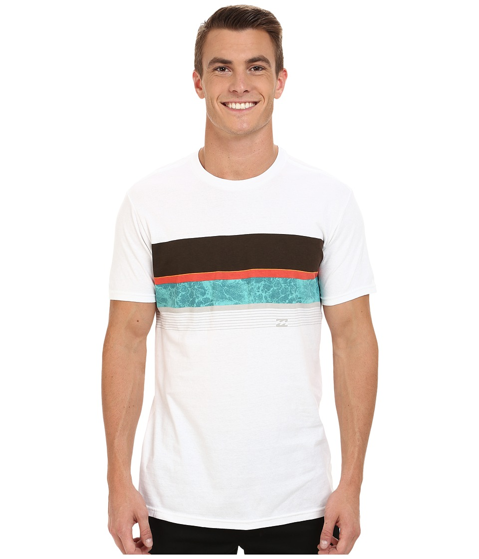 Billabong - Wind Up T-Shirt (White) Men's T Shirt