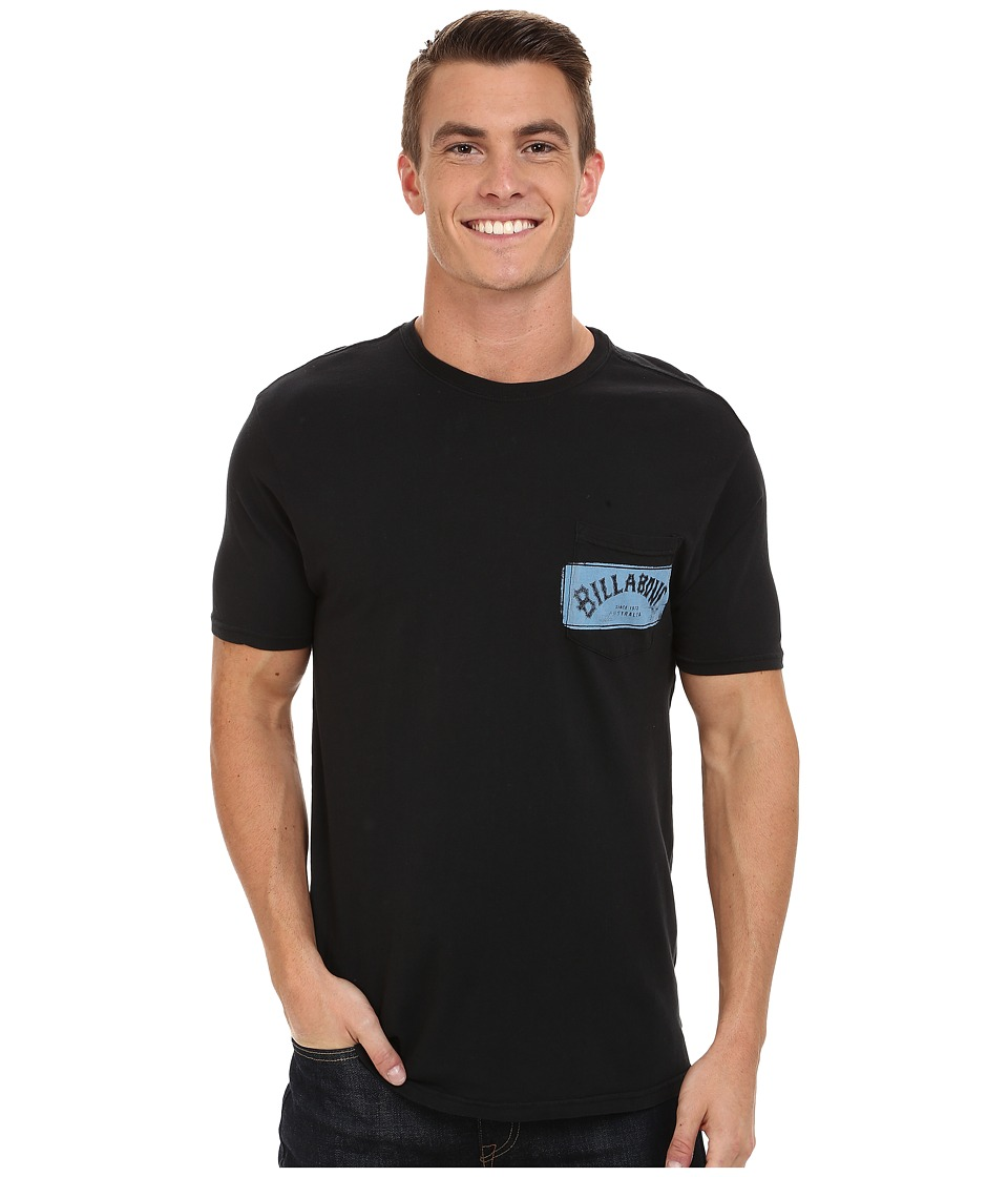 Billabong - Paste Up T-Shirt (Stealth) Men's T Shirt
