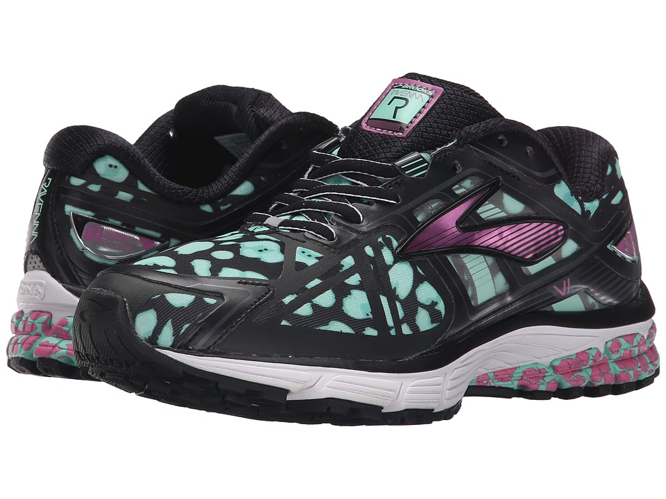 Brooks - Ravenna 6 (Ice Green/Black/Meadow Mauve) Women's Running Shoes