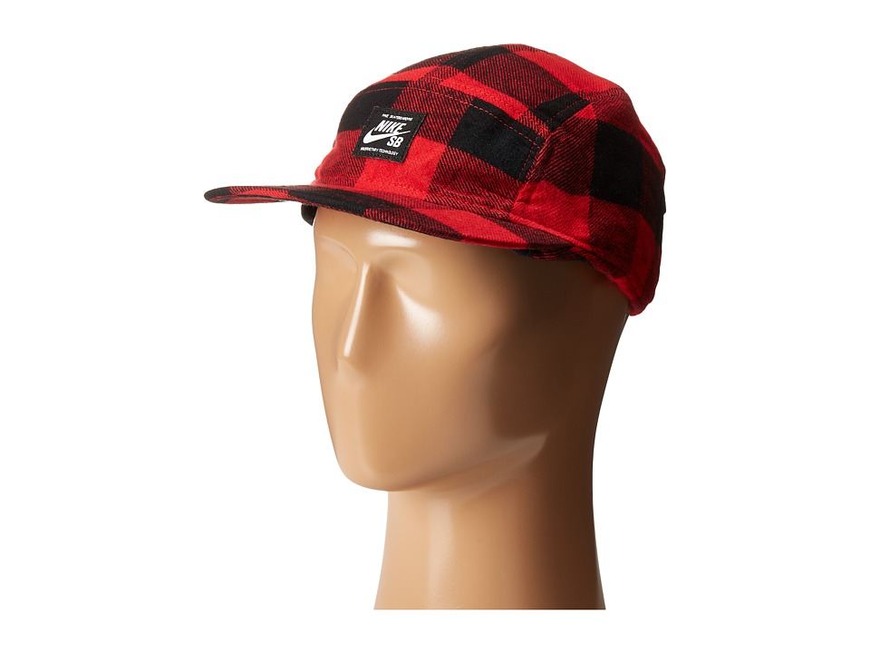 Nike SB - SB Winter AW84 Hat (Gym Red/Black/Black/Black) Caps