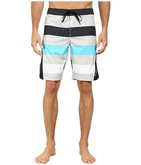 O'Neill - Superfreak Scallop Superfreak Series Boardshort (Grey) Men's Swimwear