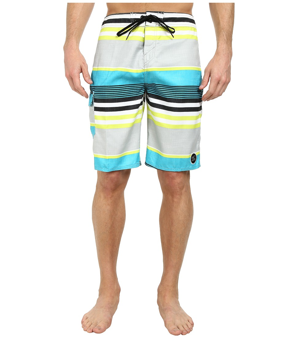 O'Neill - Santa Cruz Stripe Boardshort (Lime) Men's Swimwear