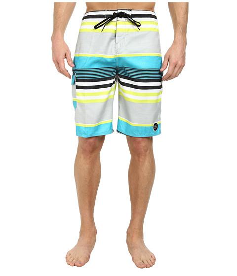 O'Neill - Santa Cruz Stripe Boardshort (Lime) Men's Swimwear