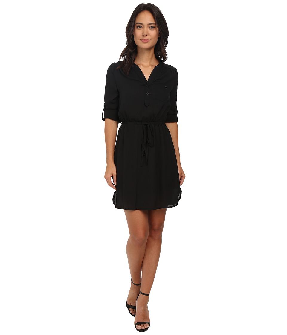 Brigitte Bailey - Blue Bell Dress (Black) Women's Dress