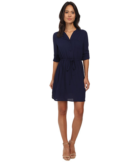 Brigitte Bailey - Blue Bell Dress (Navy) Women