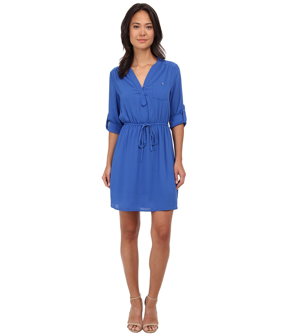 Brigitte Bailey - Blue Bell Dress (Cobalt) Women's Dress