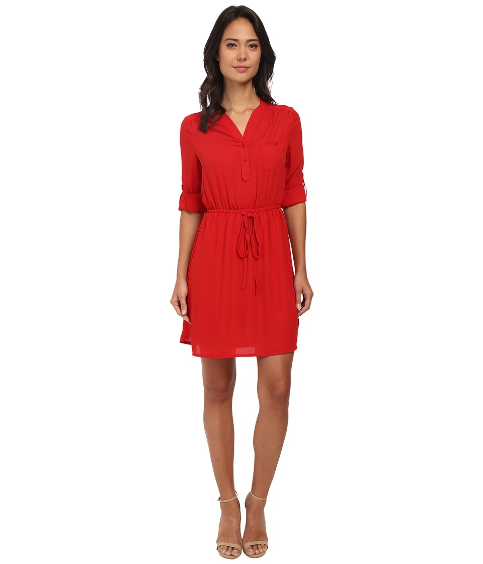 Brigitte Bailey - Blue Bell Dress (Red) Women's Dress