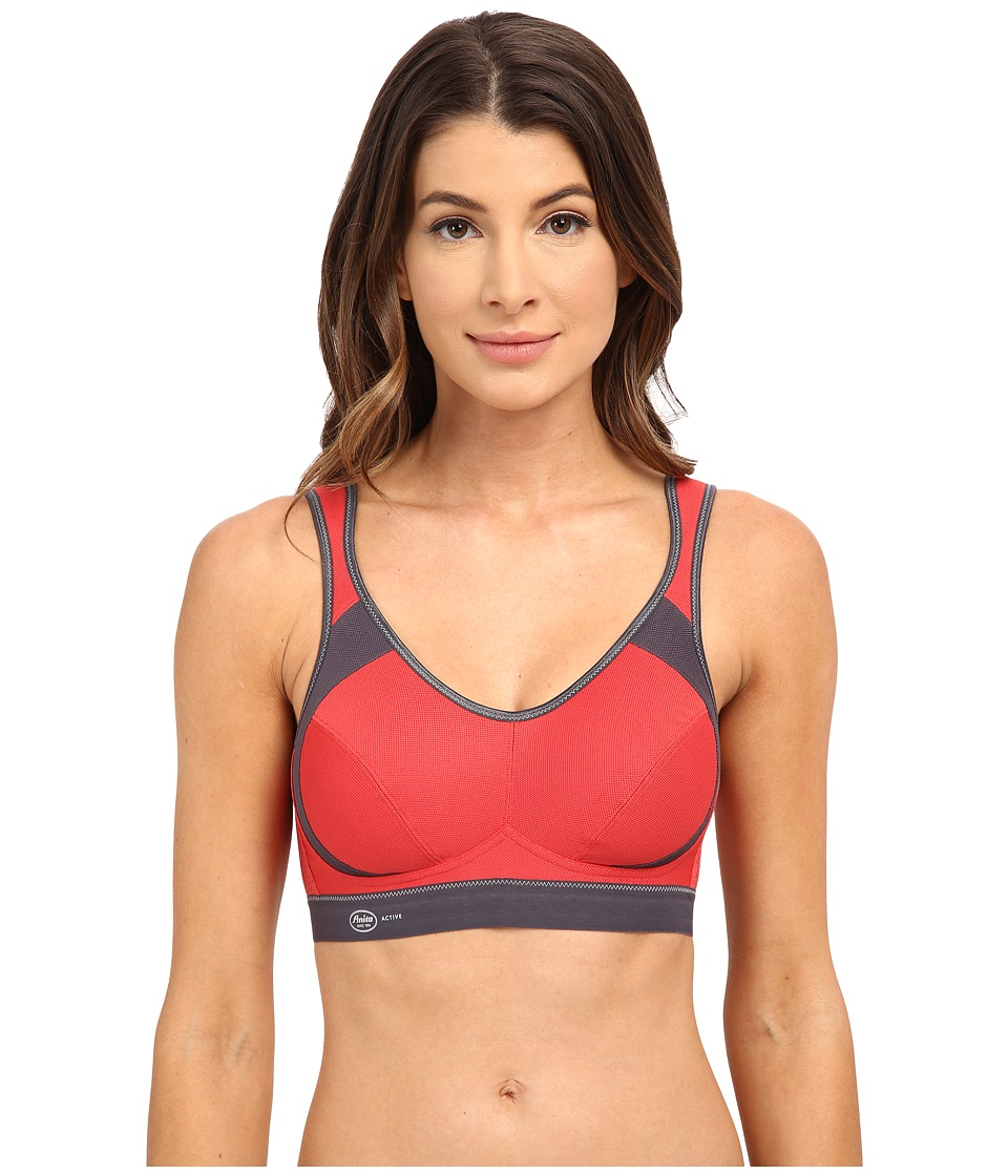 Anita - Extreme Control Soft Cup Sports Bra 5527 (Cayenne/Anthracite) Women's Bra