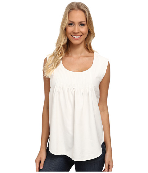 U.S. POLO ASSN. - Petal Top (Marshmallow) Women's Clothing