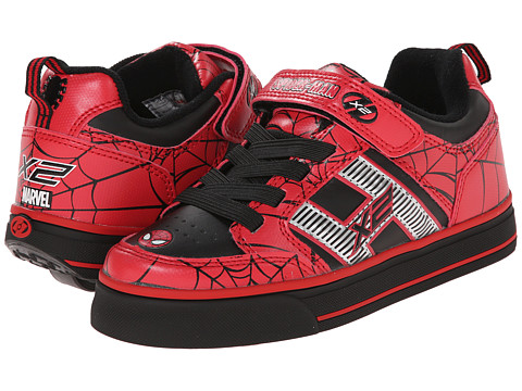 Heelys - Spiderman (Little Kid/Big Kid) (Red/Black) Boy