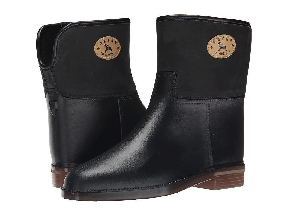 Naot Footwear - Dafna by Naot Amy (Black/Black Nubuck) Women's Shoes