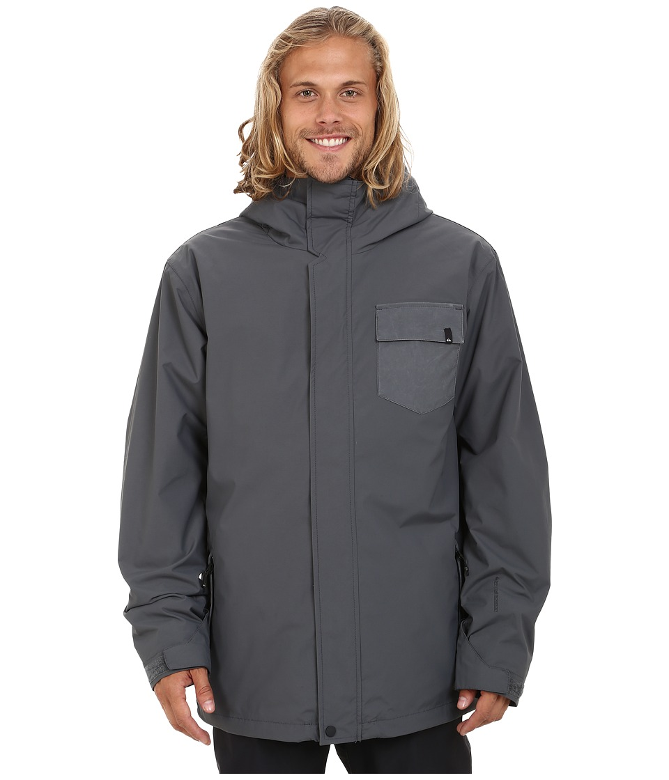 Quiksilver - Mission 3-in-1 Snow Jacket (Iron Gate) Men's Coat