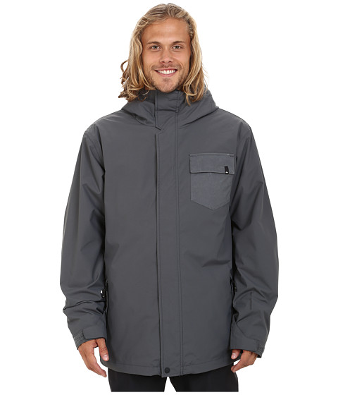 Quiksilver - Mission 3-in-1 Snow Jacket (Iron Gate) Men