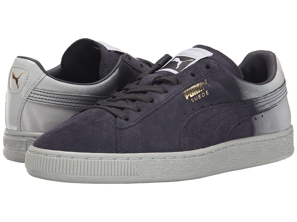 PUMA - Suede Classic + Blur (Periscope/Glacier Gray) Women's Shoes