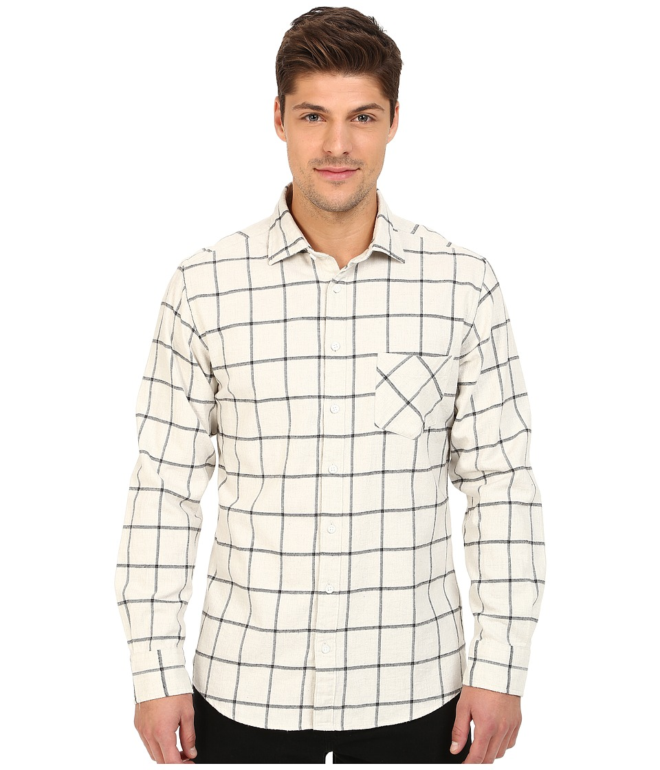 Rodd & Gunn - Melba Japanese Brushed Cotton Sport Shirt (Ivory) Men's Long Sleeve Button Up