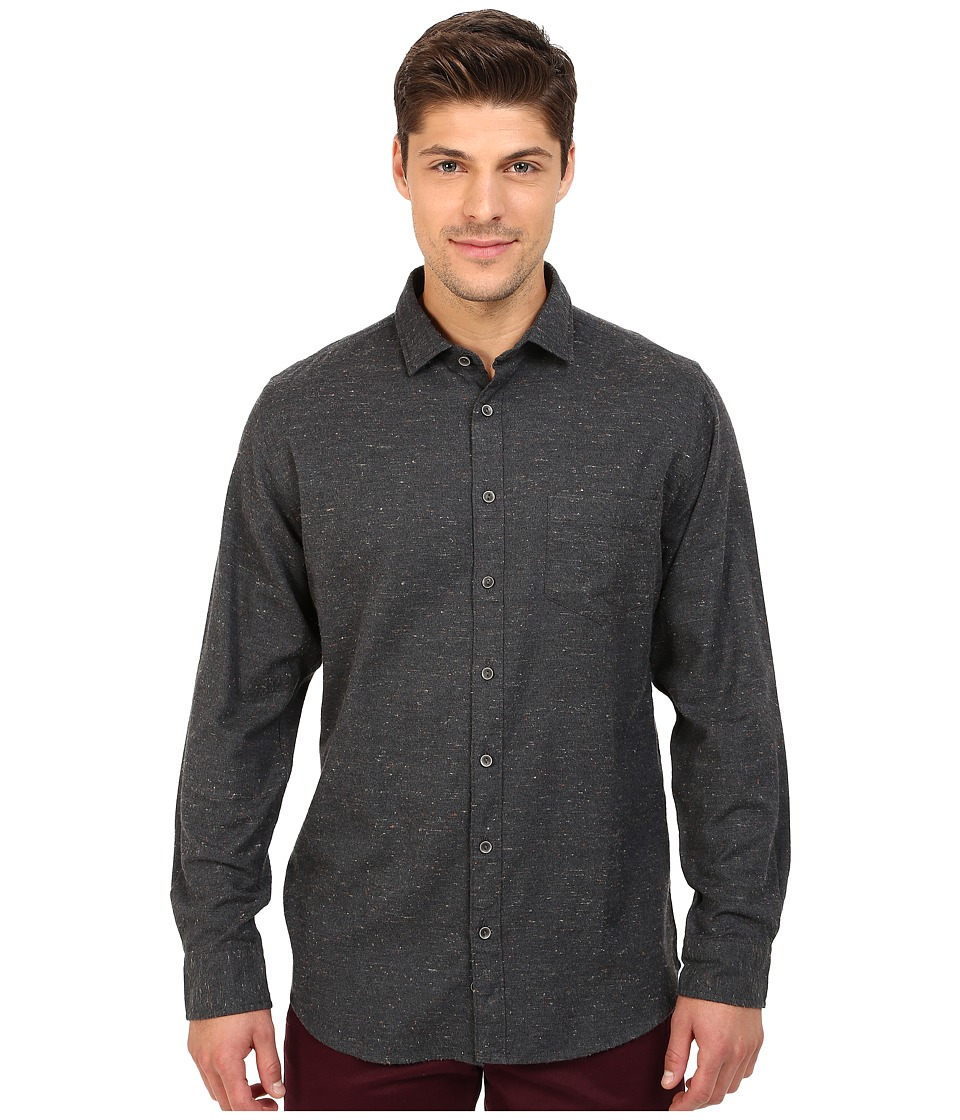 Rodd & Gunn - Pyle Road Multi Flecks Sport Shirt (Granite) Men's Long Sleeve Button Up