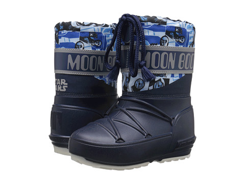Tecnica - Moon Boot - Star Wars Pod Junior Droid (Little Kid/Big Kid) (Blue/Light Blue) Work Boots