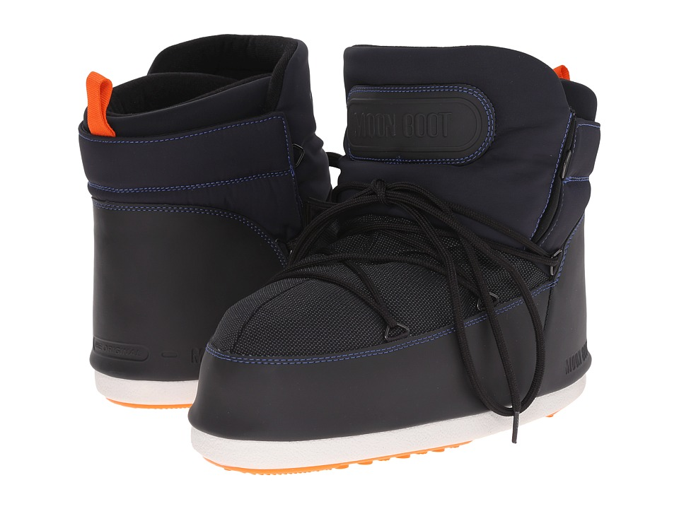 Tecnica - Moon Boot Buzz Tech (Dark Blue/Black/Orange) Work Boots