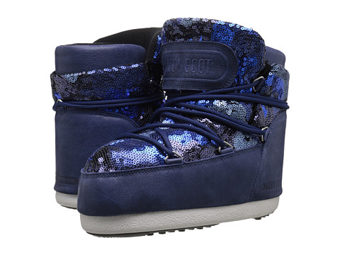 Tecnica - Moon Boot Buzz Paillettes (Blue) Work Boots