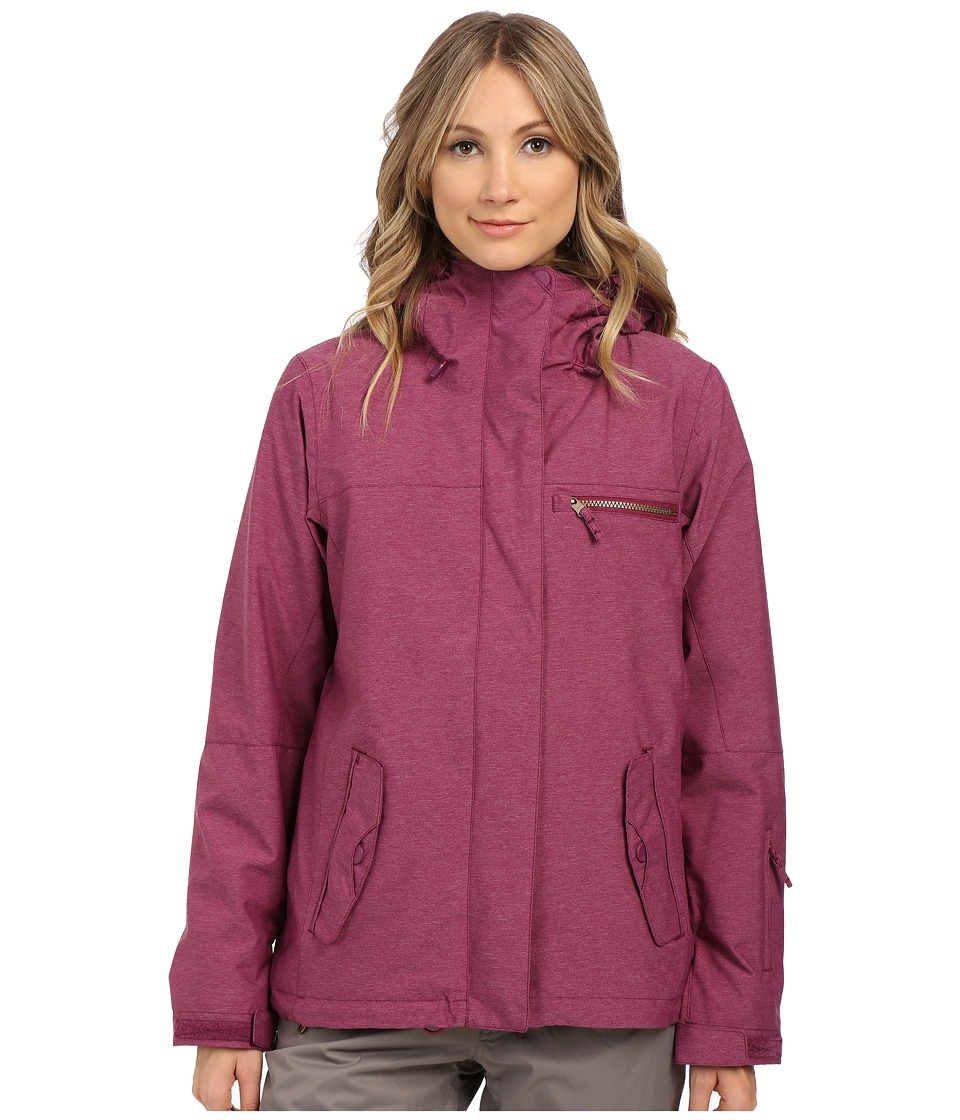 Roxy - Jetty 3-in-1 Snow Jacket (Magenta Purple) Women's Coat