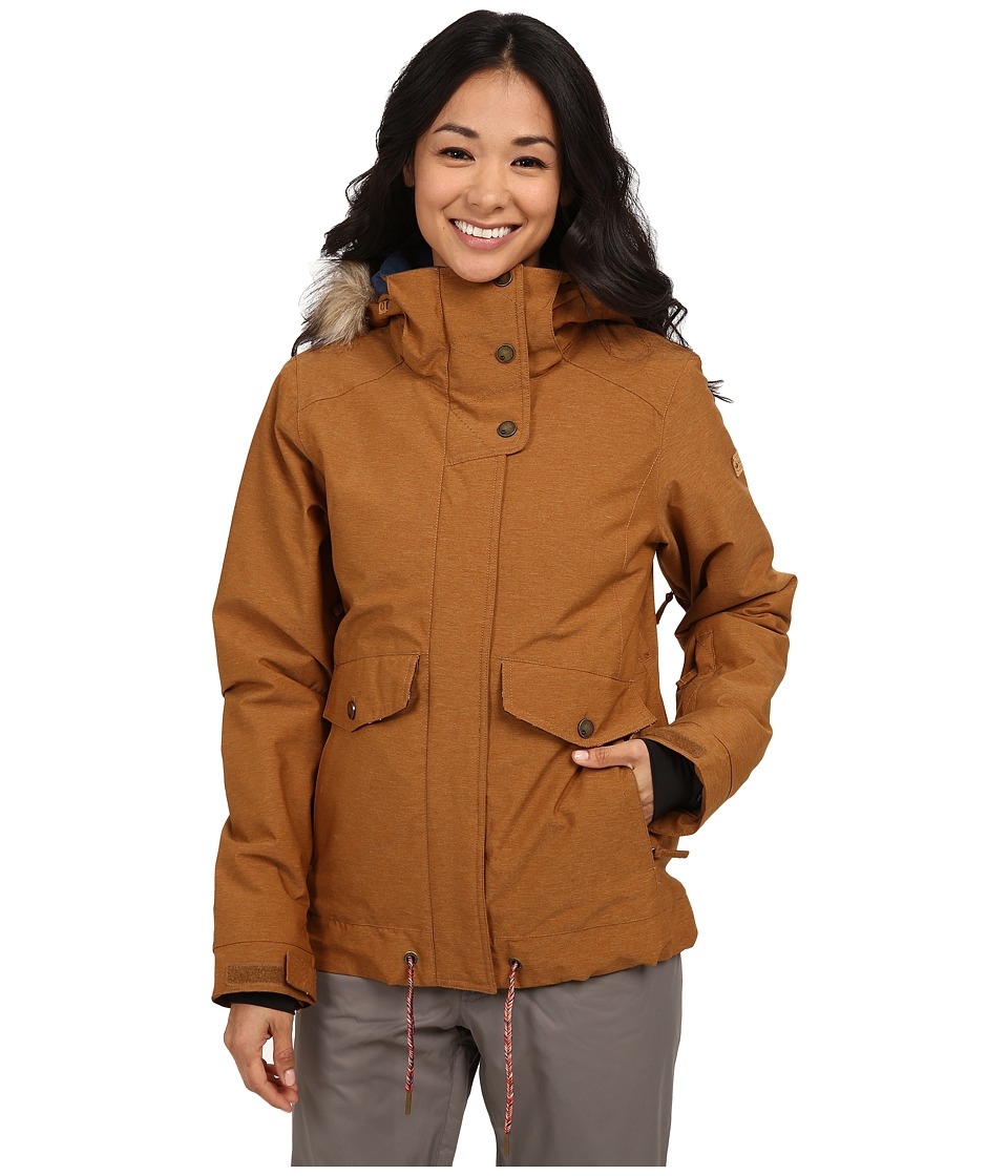 Roxy - Grove Snow Jacket (Rubber) Women