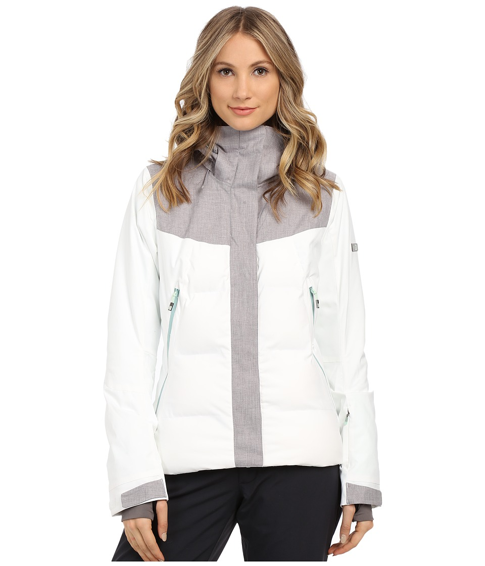 Roxy - Flicker Snow Jacket (Bright White) Women's Coat