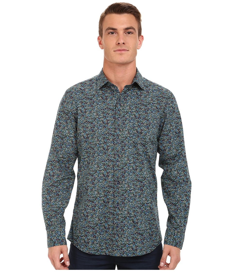 Rodd & Gunn - Cumberland Printed Sport Shirt (Botanical) Men's Long Sleeve Button Up