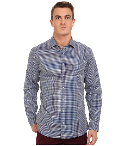 Rodd & Gunn - Sharp Road Sport Shirt (Royal) Men's Long Sleeve Button Up
