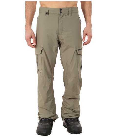 Quiksilver - Mission Shell Snow Pants (Dusty Olive) Men's Casual Pants
