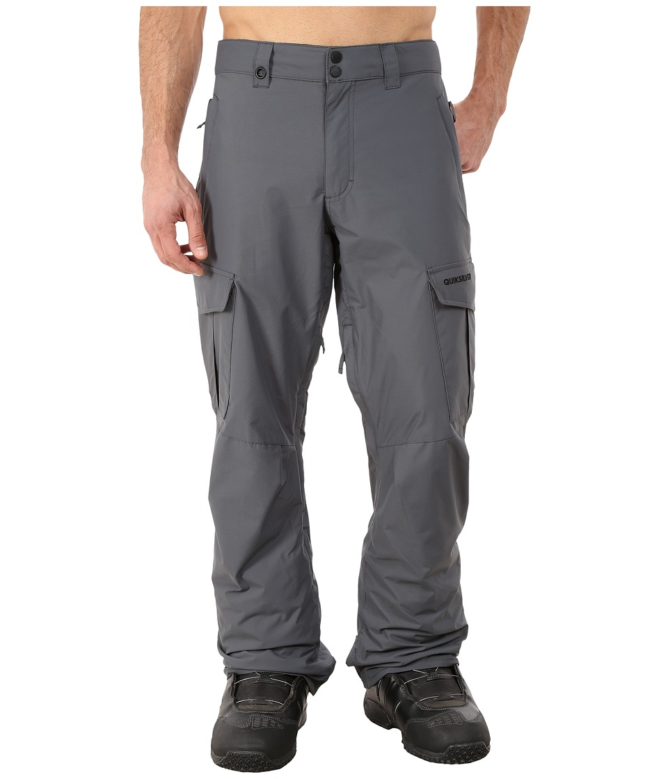 Quiksilver - Mission Shell Snow Pants (Iron Gate) Men's Casual Pants