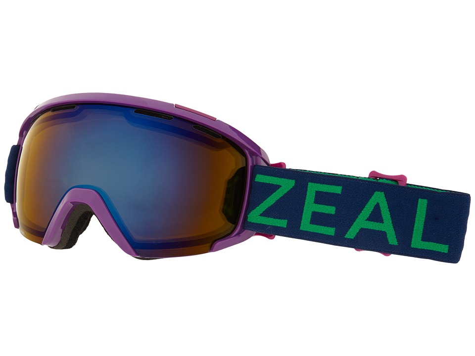 Zeal Optics - Slate (Huckleberry/Polarized Bluebird HT Lens) Goggles